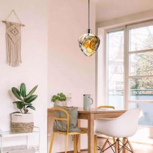 Виготовлення кришталевого світильника Амулет - оберіг для дому.
