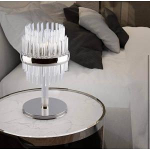 Кришталеві настільні лампи різних стилів Чехія Богемія